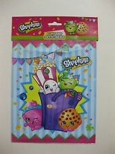 "SHOPKINS Loot Bags 8 CT. 8.5"" x 7.25"" FACTORY SEALED"