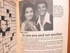 Aug-1976 Cleveland Press TV Showtime(FRANKIE AVALON/ANNETTE FUNICELLO/EDITH PIAF