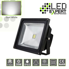 LED Expert 20w LED Flood Light Security 5 Year Warranty IP65 Cool White CE RoHS