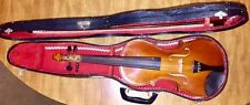4/4 Full size violin with hard shell case vintage