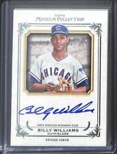 2013 Topps Museum Collection Auto #AA-BW Billy Williams No 180 of 199