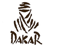 2 x DAKAR, CAR STICKER  DECAL,TRUCKS,MOTORBIKES, 4X4, CARS,VANS,CAMPERVANS,VW