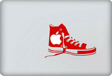 Chuck Taylor Converse shoes Red sticker for Mac laptops. Made in Australia