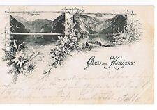 83471 Berchtesgaden 9 AK Saletalpe St.Bartholomä Watzmann Königsee 1897-1942