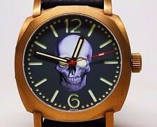 REGIA RSD SKULL DIAL AUTOMATIC SAPPHIRE BRASS LE 100 BY AUTHORIZED US DEALER