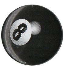 8 Ball Eight Ball Pool Lucky Charm 1 inch Button Pin Badge