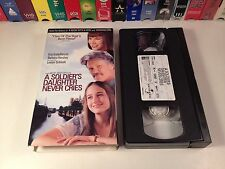 A Soldier's Daughter Never Cries Drama VHS 1998 Merchant Ivory Kristofferson