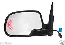 2003-07 CHEVY/ GMC POWER HEATED TURN SIGNAL VIEW SIDE MIRROR DRIVER/ LEFT SIDE