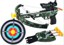 Kids Children Outdoor Toy Archery Set Crossbow Bow Set with Target King-Sport A