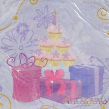 BARBIE Perennial Princess LARGE NAPKINS (16) ~ Birthday Party Supplies Luncheon