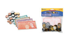 Learning Resources Set of 96 UK Pound Sterling Play Money - coins & notes NEW
