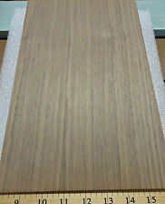 "Walnut wood veneer panel 3/4"" x 8"" x 12"" on MDF board with Walnut backer"