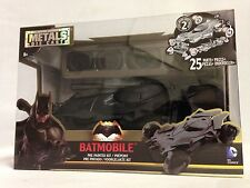 BATMAN V SUPERMAN - BATMOBILE, MODEL KIT DIECAST METALS CAR, JADA TOYS, BLACK
