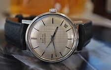 ZENITH AUTOMATIC CALIBRE 2542PC GENTS VINTAGE WATCH c1967-STUNNING!