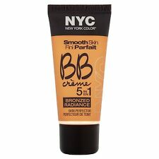 NYC Smooth Skin BB Creme Cream 5 in 1 Bronzed Radiance, Light