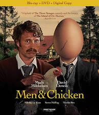Men & Chicken Blu Ray / DVD Brand New Movie Ships Worldwide