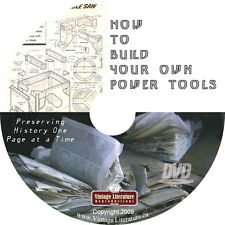 How To Build Workshop Power Tools { 150 Blueprint  Plans } on DVD