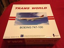 TWA - Trans World Airways Boeing 747-100 1/200 scale by Inflight200