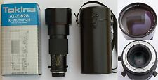 TOKINA AT-X 828  80-200mm F2.8 SD FOR YASHICA CONTAX MOUNT (Y/CX)
