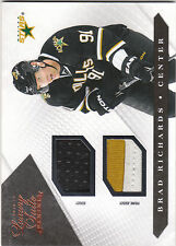2010/11 Panini Luxury Suite game used jersey/patch Prime Brad Richards 080/150