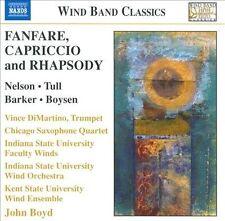 Fanfare, Capriccio & Rhapsody, New Music