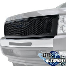 07-13 Chevrolet Silverado 1500 ABS Black Mesh Packaged Grille Grill