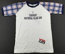 NWOT Rare Vintage 1982 Steve Martin Dead Men Don't Wear Plaid T Shirt S / M 80's