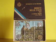 REPUBBLICA DI SAN MARINO,MONETE DELLO STATO1974 A  CORSO LEGALE,serie ridotta.