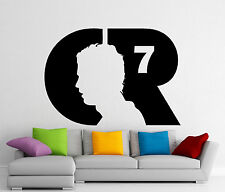 Cristiano Ronaldo CR7 Wall Decal Football Vinyl Sticker Art Decor Mural 428n