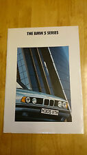1990 BMW 5-SERIES BROCHURE INC. 535i SPORT