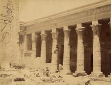 Photo Zangaki Albuminé Egypte Vers 1880