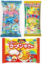 UK Seller Japanese Sweets 3 Kracie Popin Cookin Candy Making Ramen DIY Kits