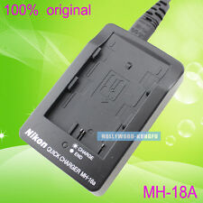 Genuine Original Nikon MH-18a MH-18 Charger for EN-EL3a EN-EL3e Battery D70 D50
