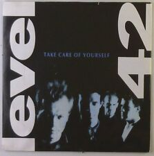 """7"""" Single - Level 42 - Take Care Of Yourself - S975h - washed & cleaned"""