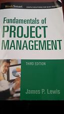Fundamentals of Project Management Third Edition James P. Lewis 2006 Paperback