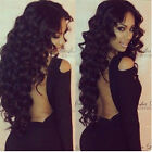 Glueless Lace Front Wigs Malaysian Virgin Human Hair Body Wave Hair Full Wigs