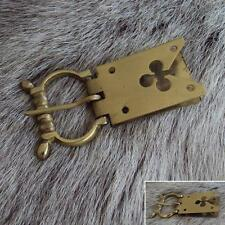 Medieval / Viking Brass Belt Buckle. Ideal for Re-enactment, Stage and Costume