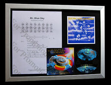 ELECTRIC LIGHT ORCHESTRA+ELO Mr. Blue Sky FRAMED CD DISPLAY+EXPRESS GLOBAL SHIP