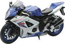 New Ray Toys 1:12 Die Cast Replica Suzuki GSXR-1000 2008 Blue 57003A