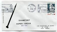 1976 Exametnet Super Arcas 35/94 Kourou Guyane Francaise Ville Spatiale SPACE