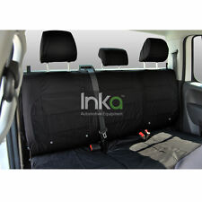 VW Amarok Rear Seat Inka Fully Tailored Waterproof Seat Covers Black