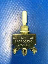Beech Baron 58 Switch P/N 35-380053-5 (1116-119)