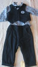 Next 6-9 months 4pc NAVY BLUE SUIT SET BNWT New Outfit Wedding Formal Baby Boys