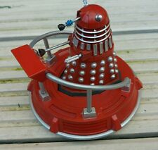 """CUSTOM DOCTOR WHO 3.75""""  DALEK  & HOVERBOUT  RED"""
