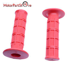 "7/8"" Rubber Handlebar Handle Bar Grips for Honda Kawasaki Yamaha Dirt Pit Bike"