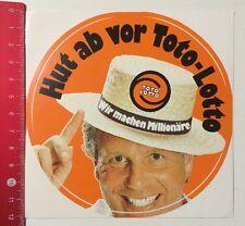 Aufkleber/Sticker: Hut Ab Vor Toto-Lotto - Wir Machen Millionäre (050516172)
