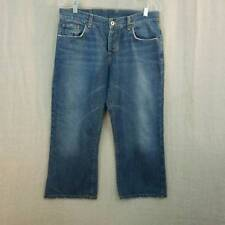 Lucky Brand Easy Rider Crop Button Fly Women's 8/29