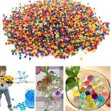 10000 Pcs Water Bullet Balls Gun Pistol Toys Crystal Soil Water Beads Mud DIY