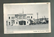1949 Tijuana Mexico Real Picture RPPC Postcard Cover to USA Immigration Office