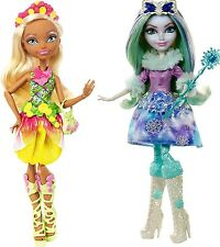 Ever After High Nina Thumbell & Crystal Winter Epic Dolls - 2 New Dolls